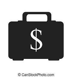 money briefcase business