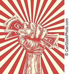 Money Cash Fist Hand