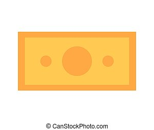 money cash on white background