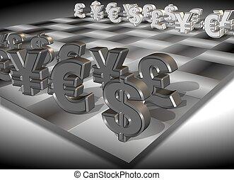 Money chess