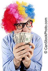 Money clown