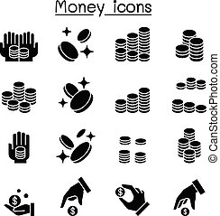 Money & Coin icon set