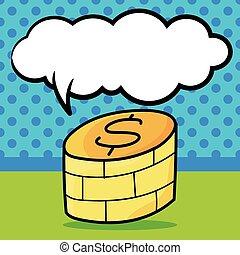 money color doodle
