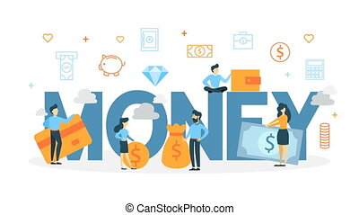 Money concept animation