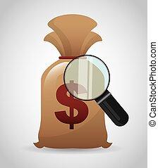 money concept design, vector illust