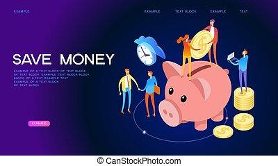 Money Deposit Web Banner