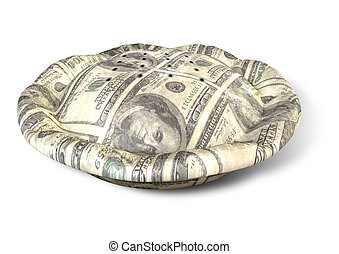 Money Dollar Pie Perspective