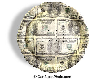 Money Dollar Pie Top