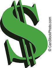 Money Dollar Sign vector