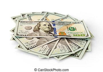 money dollars banknotes