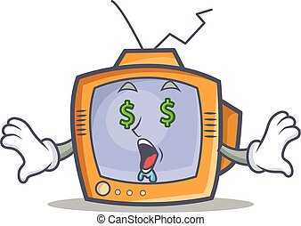 Money eye TV character cartoon object