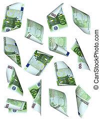money fall (euro)