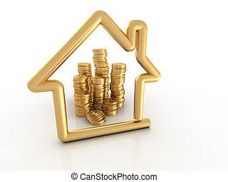 Money for house
