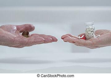 Money for medicines