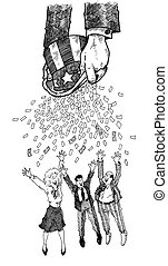 Money from Uncle Sam - Uncle Sam is giving a big bailout!