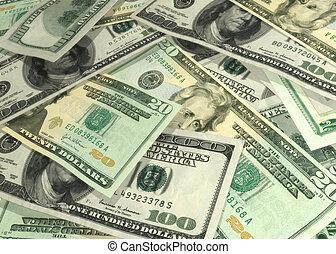 Money Generic 01 - U.S. Money 3D