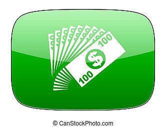 money green icon cash symbol