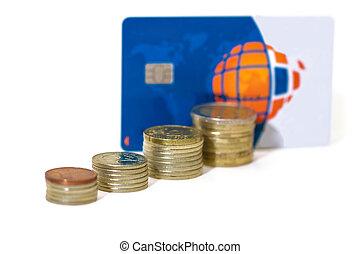 Money growth. Bank credit card