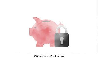 Money icon design, Video Animation