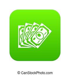 Money icon green