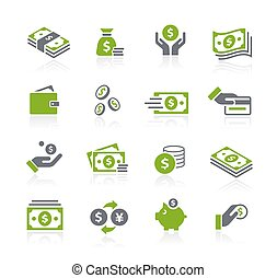 Money Icons // Natura Series