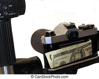 money in Camera