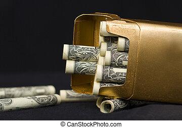 Money in Cigarettes