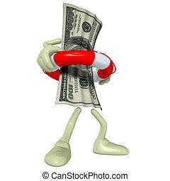 Money In Life Preserver