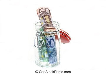 Money in the jar