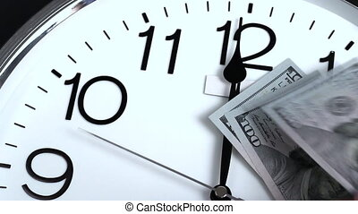Money is time stops. - Money stop time in the truest sense...