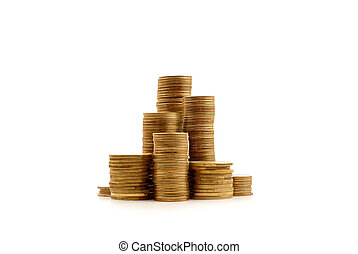 Money isolated on white