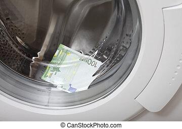Money laundering.