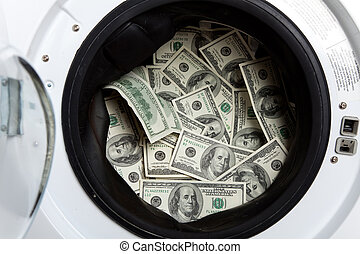 money laundry, Organized Crime concept