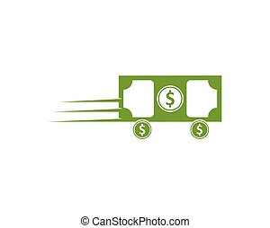money logo icon vector illustration