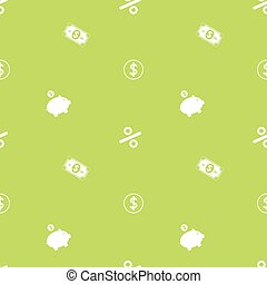Money Making Seamless Financial Pattern