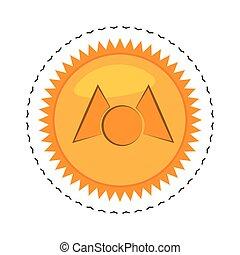 money mastercoin golden commerce vector illustration eps 10