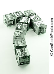 Money movement -financial concept of successful investment