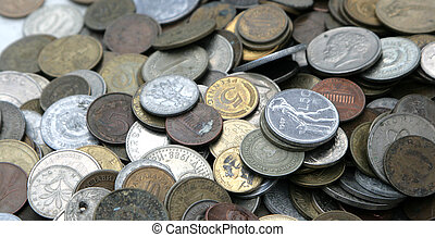 money, old coins