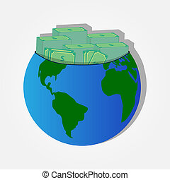 Money on the planet