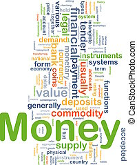 Money payment background concept - Background concept...