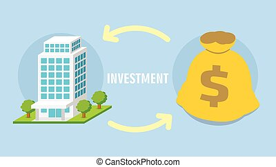 money property investment concept