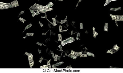 money rain, 3d animation