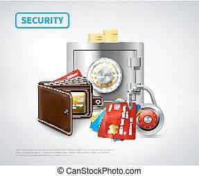 Money Realistic Security Set