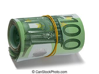 Money roll.