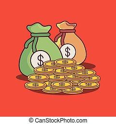 Money sack design