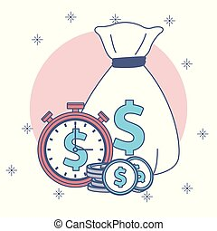 Money savings and investments - Money savings and time...
