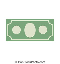 Money sign. Dollar symbol. Cash emblem. Financial Icons