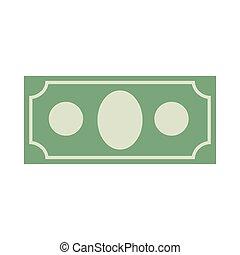 Money sign. Dollar symbol. Cash emblem. Financial Icons