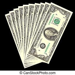money - a lot of money