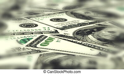 Money success tunnel vision non looping CG background